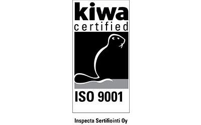 ISO 3001:2015 Sertifikaatti