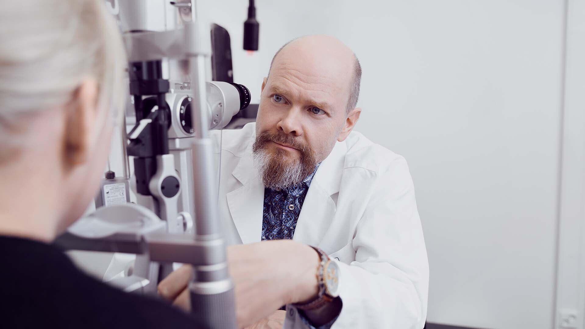 Lääkäriksi Silmäasemalle