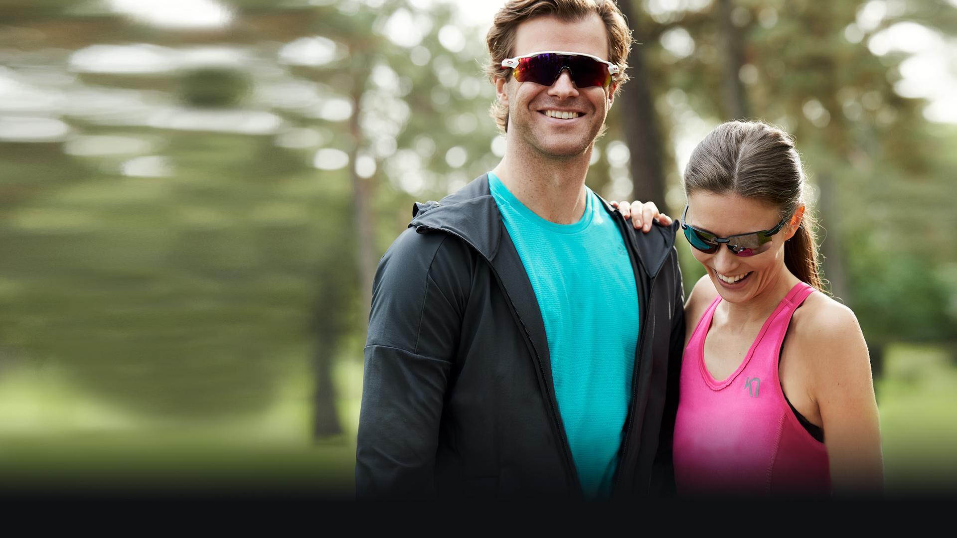 Urheiluun kannattaa valita aurinkolasit, jotka auttavat suorituksissa. Lue lisää