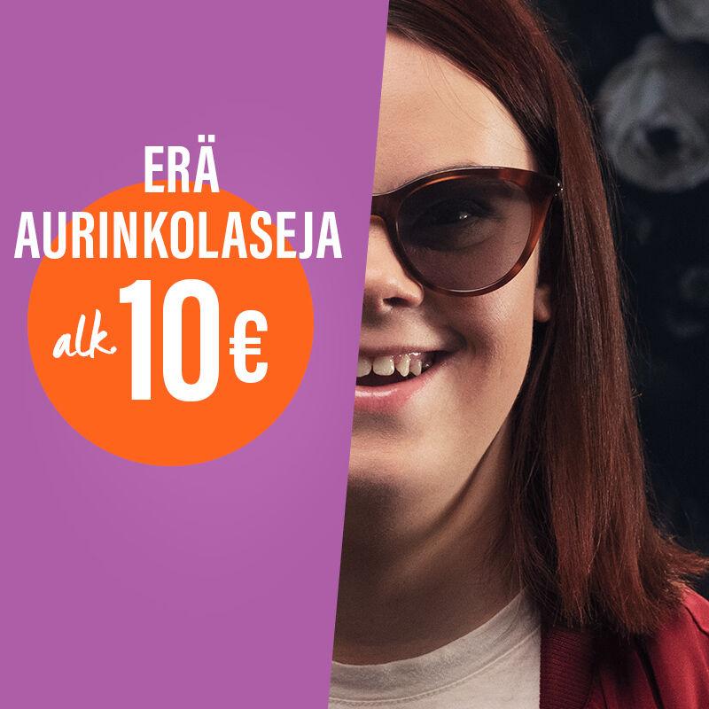 Erä aurinkolaseja alkaen 1 0€
