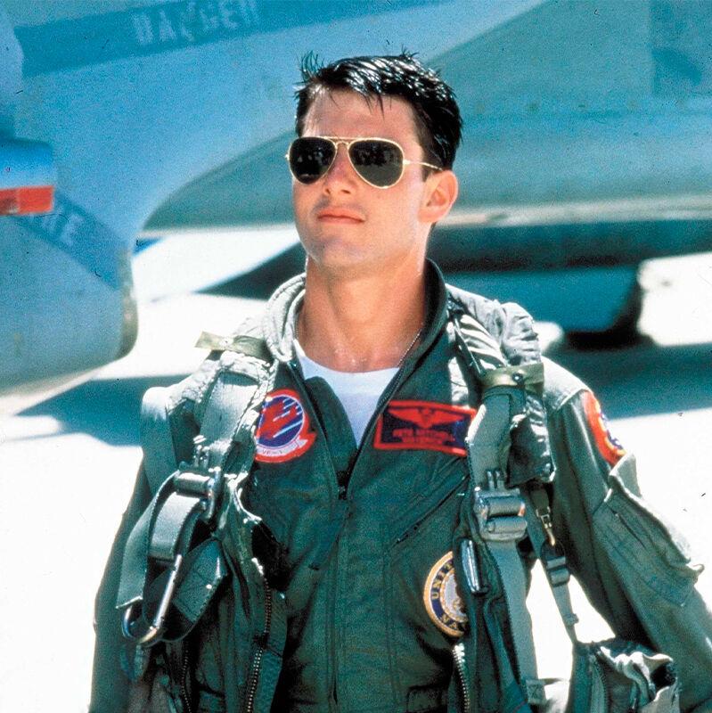Top Gun: pilottimalliset aurinkolasit