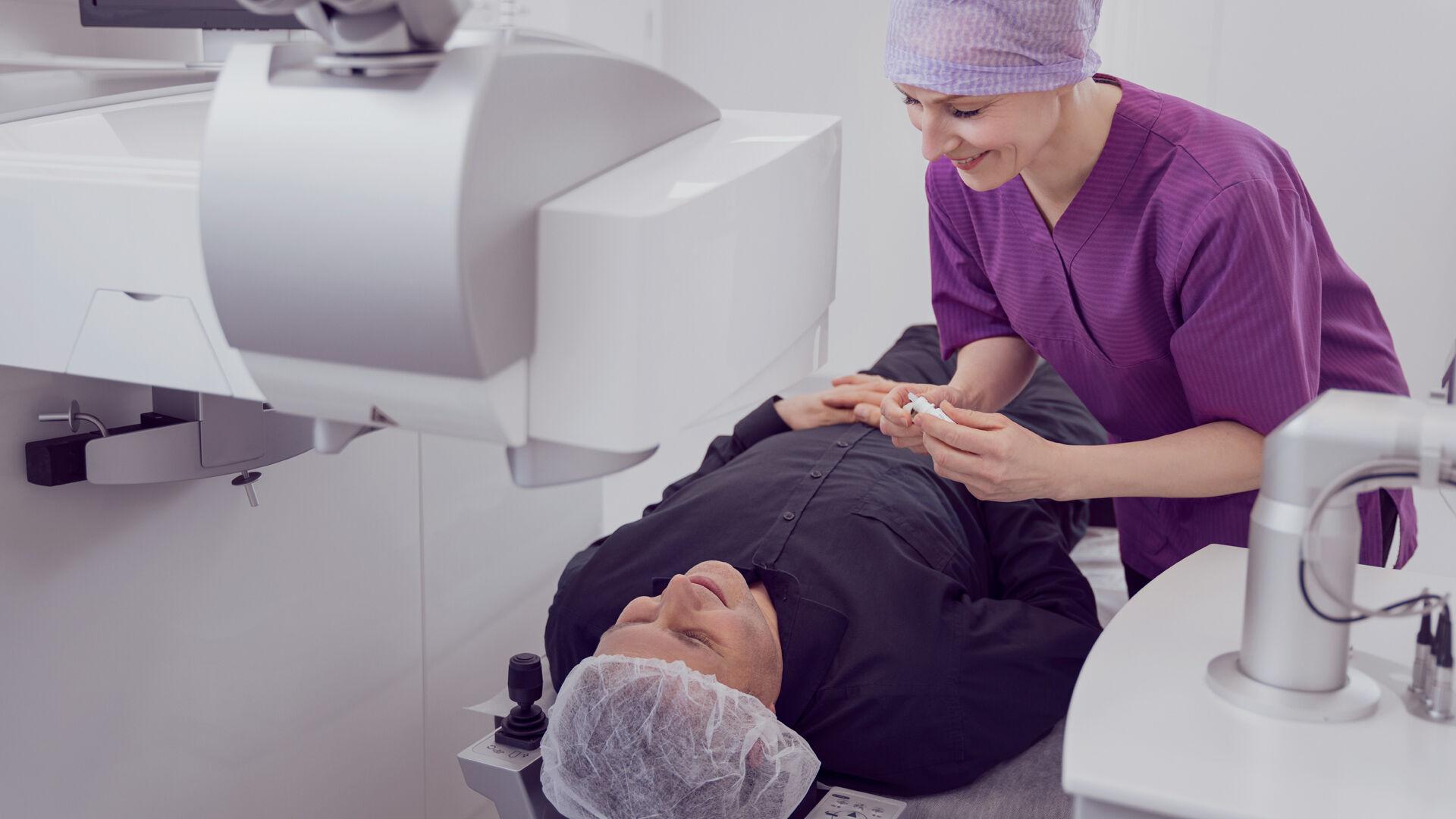 Selätä leikkauspelko: laserleikkaus on nopea ja kivuton