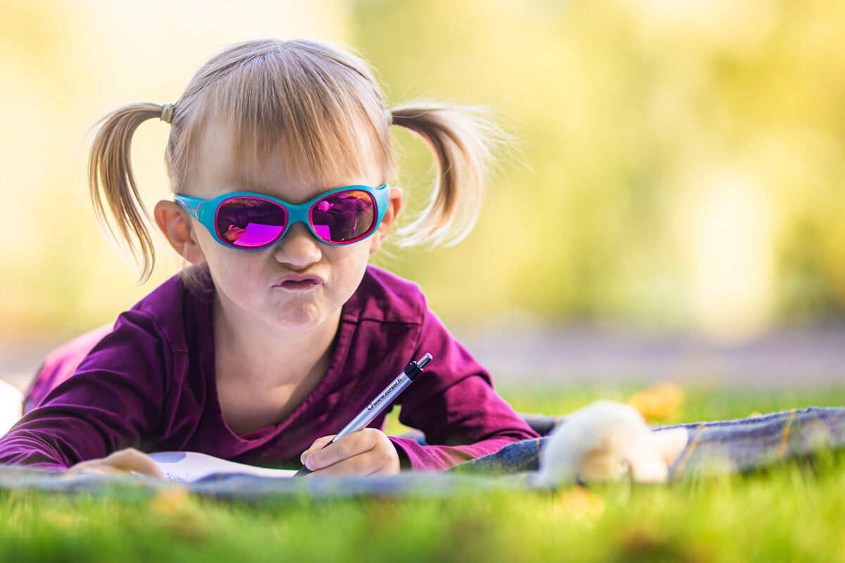 Lasten aurinkolaseissa kannattaa panostaa laadukkaisiin linsseihin