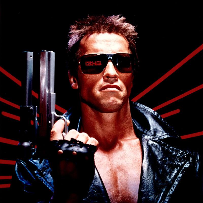 Terminator – Tuhoaja: sportti-aurinkolasit