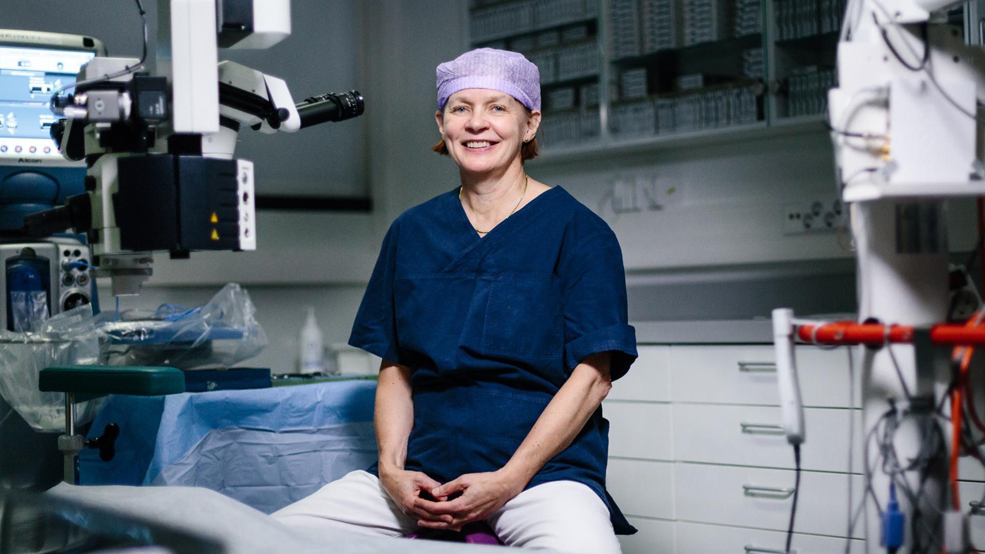 Silmäaseman silmäsairaaloille on myönnetty arvostettu laatusertifikaatti