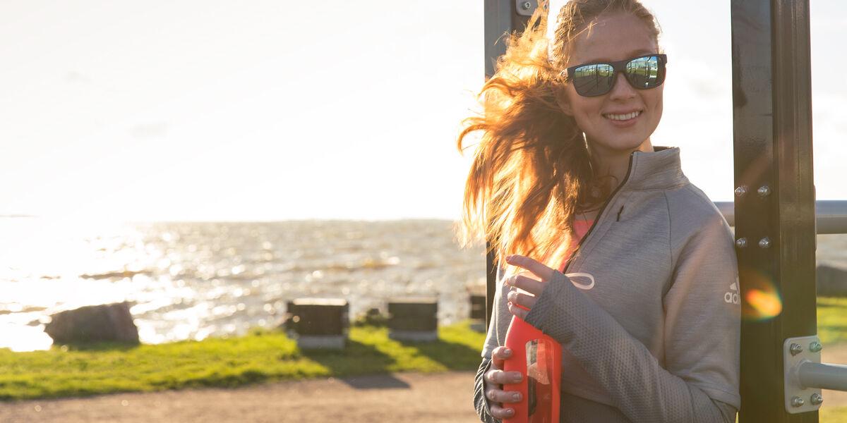 Hyvin valittu aurinkolasi auttaa parantamaan tuloksia urheilussa.