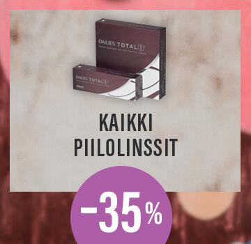 Kaikki piilolinssit -35 %