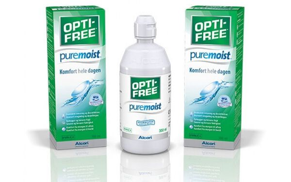 OPTI-FREE PURE MOIST 300 ML image number null