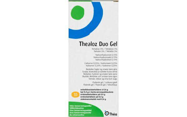 Thealoz Duo Gel 30 x 0,4 g image number null