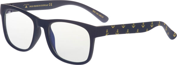 Shadez Digilasit Blue Ray Anchor Print Navy SHZ 133 ADULT image number null