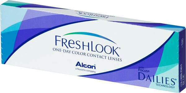 Freshlook 1 day image number null