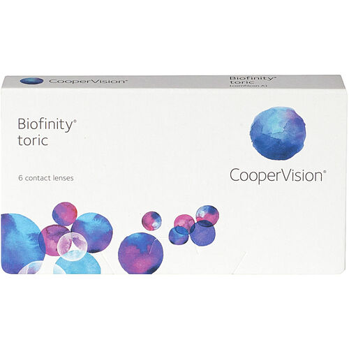 Biofinity Toric image number null