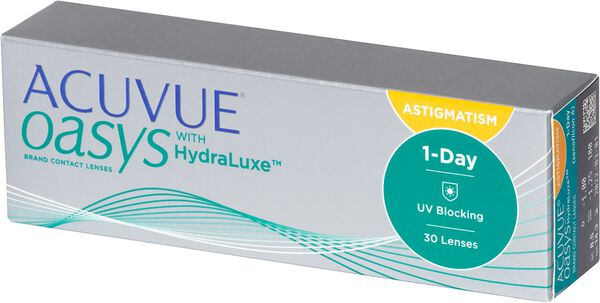 Acuvue Oasys 1-Day with Hydraluxe for Astigmatism image number null